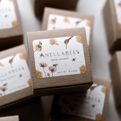 Anellabeeshoney caramels,gourmet caramels, small-batch artisan caramels