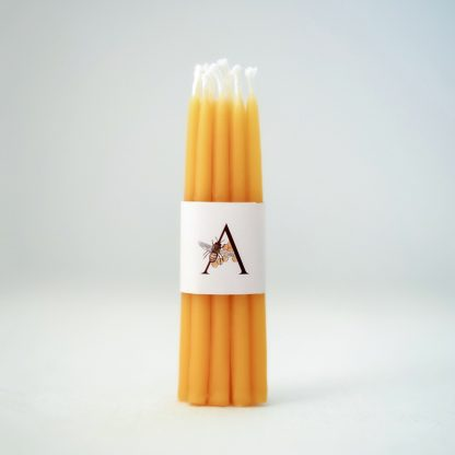 earth friendly birthday candles, beeswax, organic birthday candles