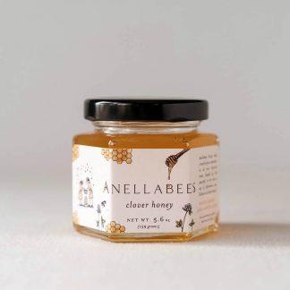 Raw Clover Honey, Local, Organic Honey, Clover Honey, Anellabees Honey, Raw Unfiltered Honey
